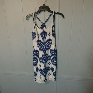 Banana Republic silk patterned dress